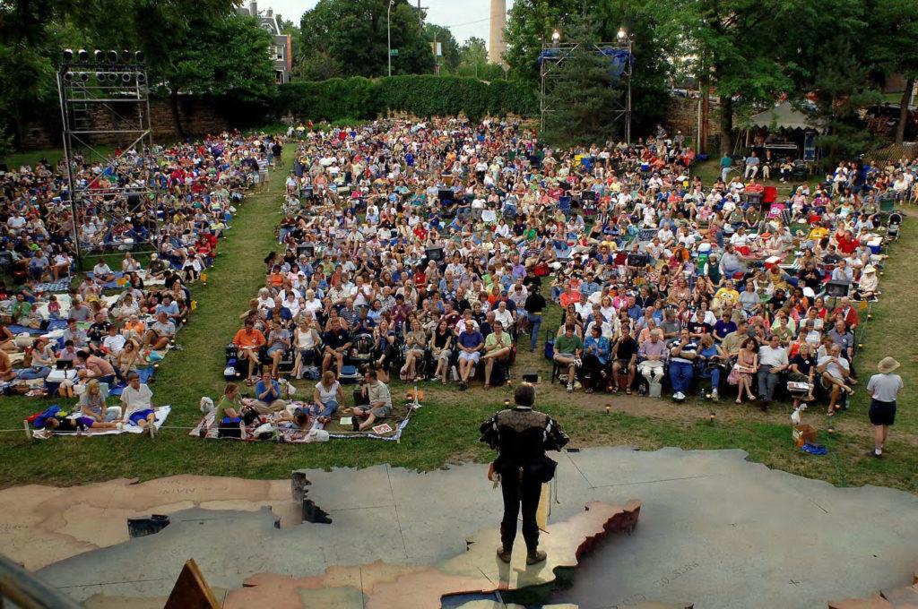 Heart of America Shakespeare Festival audience